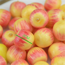 20pcs Small Berries Artificial Plastic Flower model Apple Stamen Pearlized Wedding simulation glass pomegranate Decoration