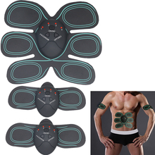 EMS Body Abdominal Muscles Device Electric Massager TENS Unit Electrotherapy Back Pain Relief ABS Fit Muscle Stimulator Massager