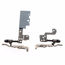 Notebook Computer Left & Right LCD Screen Hinges Fit For Dell 7535 WITH TOUCH Laptops Replacements LCD Hinges S0C46 P40(China)