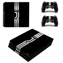 Buy Juventus Football PS4 Pro Skin Sticker Sony PlayStation 4 Pro Console Controllers PS4 Pro Stickers Decal for $10.44 in AliExpress store