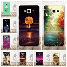 Luxury Case for Samsung Galaxy A5 2015 Case Silicone Back Printing Skin Cover for coque Samsung A5 Cover A500 Soft TPU Bag Shell