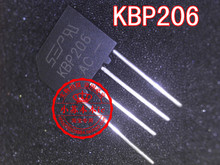 Computer New Spot KBP206 Rectifier Bridge Stack 2A 600V Free shipping