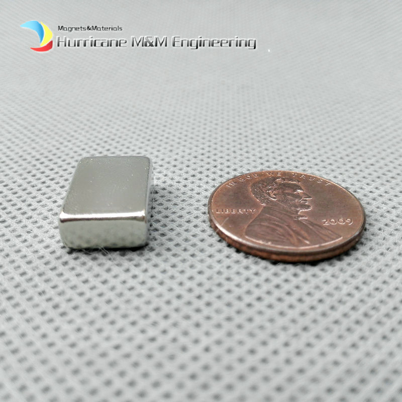 1 Pack N42 NdFeB Block 15x10x5mm about 0.59 Rectangle Magnet Bar Magnets Strong Neodymium Permanent Magnets Lifting Magnets<br>