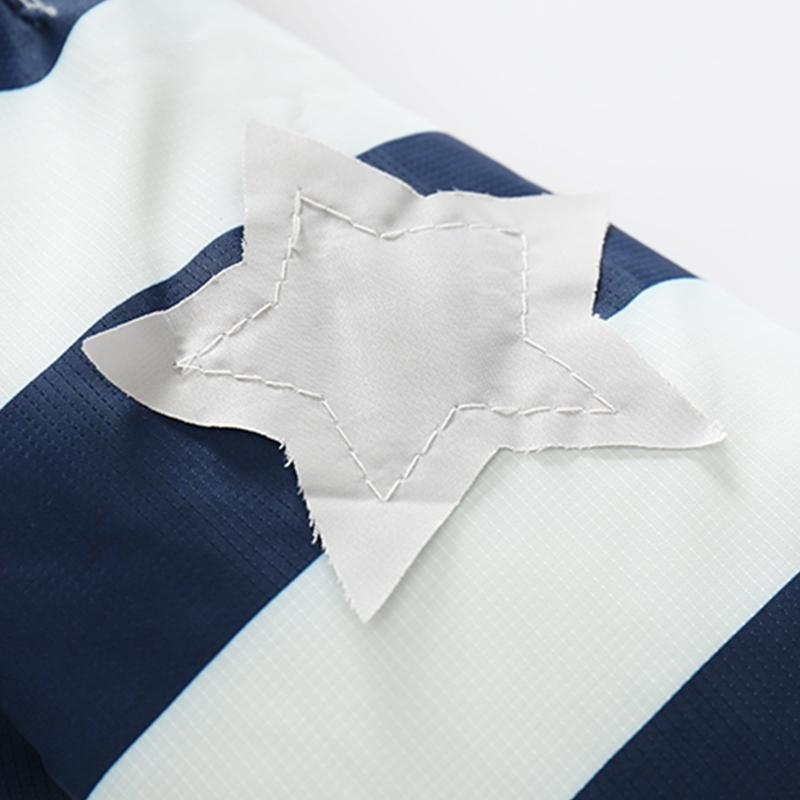 CROAL CHERIE 80-120cm Fashion Star Windproof Striped Jacket For Boys Winter Coat For Girls Children\`s Winter Velvet Clothes (11)