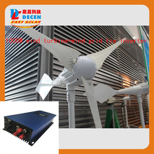 MAYLAR@ 1PCS 1000W 48V Wind Turbine + 1PCS 1000W 45-90VDC Wind Grid Tie Inverter For Wind Power System(China)