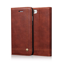 Flip Leather Phone Cases For Iphone 5 5S SE 6 6S Plus 7 Case Wallet Pouch Style Card Slot Stand Holder Cover For Iphone 7 Plus
