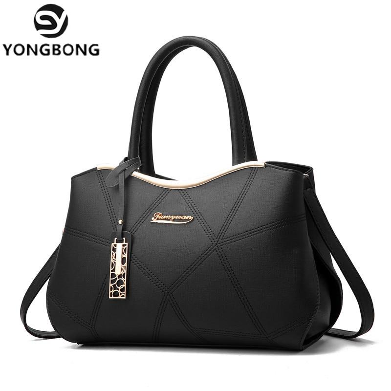 YONGBONG Brand Luxury Women Handbags Famous Designer PU Leather Crossbody Bag 2017 Fashion Female Messenger Bags Shoulder Bags<br>