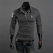 New Mens Premium Brand Shirts Designer Giraffe Casual Basic Slim Fit Short POLO Shirts