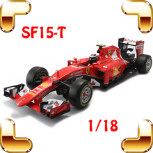 New Year Gift SF15-T 1/18 Metal Model Cars Formula Car Collection Toys House Decoration Alloy Huge Vehicle Present Big Racer Toy(China)