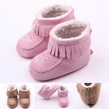New Fashion winter baby shoes boots infants warm shoes girls baby booties boy baby boots fur newborns