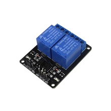2 Channel Relay Module Relay Expansion Board 5V Low Level Triggered 2-way Relay Module arduino Diy Kit