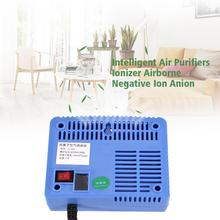 Negative Ionizer Generator Ionizer Air Purifier Remove Smoke Dust Air Purifiers Negative Ion Anion Generator AC220-240V for Home(China)