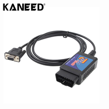 EOBD OBDII Test Tool Interface Auto Diagnostic tool Opel Tech 2 COM EOBD OBDII OBD II Diagnosis Interface Free Shipping