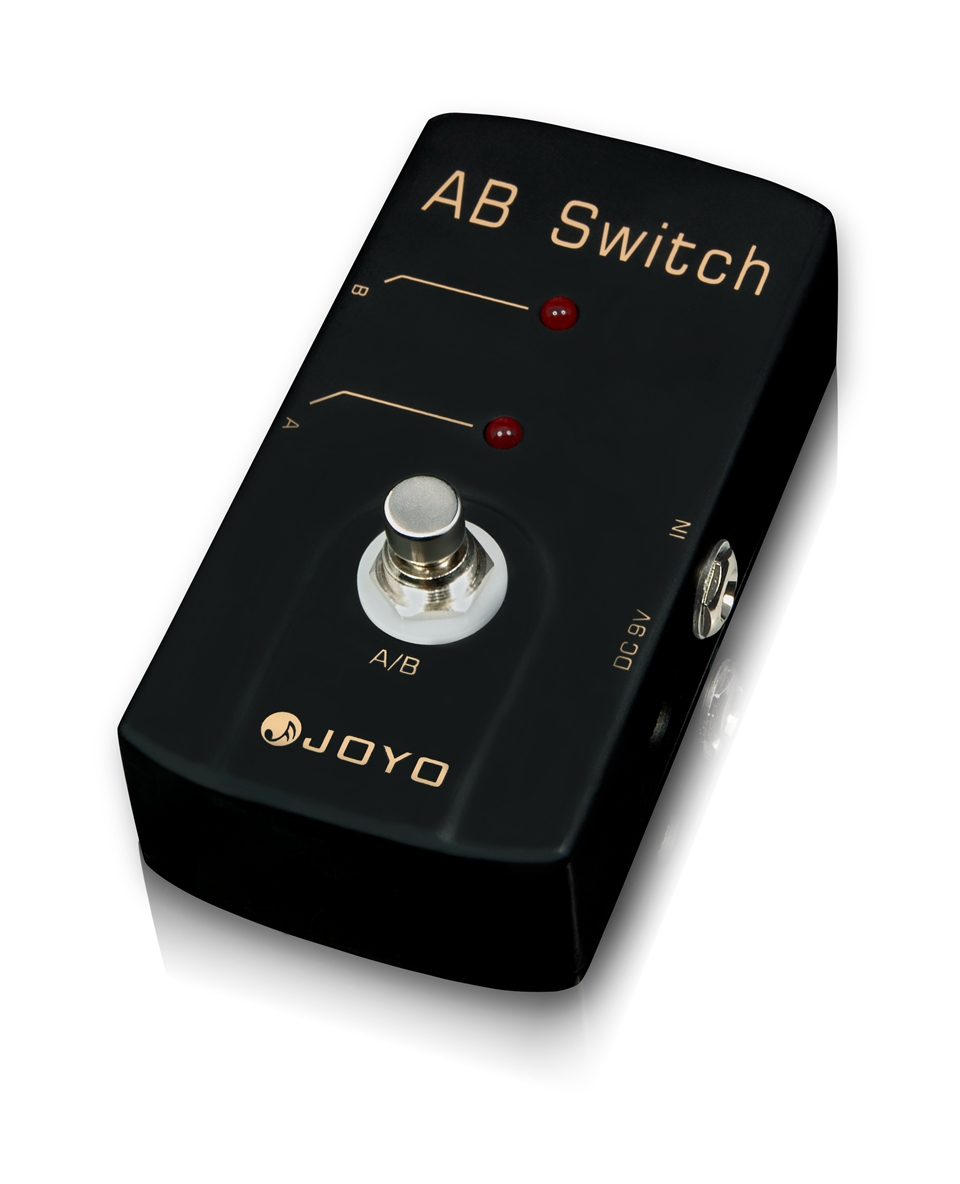 JOYO JF-30 Electric Guitar Effect Pedal Diverter To Different AMP A/B Switch Effect Route Your Signal To Two Different Setups<br>
