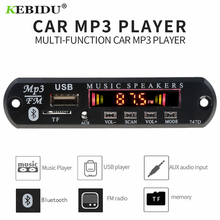 MP3 Player Decoder Board FM Radio TF USB 3.5 mm AUX Module Bluetooth Receiver Car kit Audio for IPhone 8 XS Xiaomi MI(China)