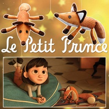 New 16inch/24inch Movie Le Petit Prince The Little Prince Fox Plush Doll Stuffed Toys animals education toy for baby 45cm/60cm