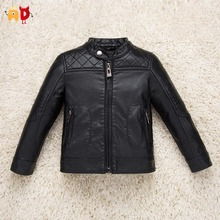 AD Cool Design Leather Jackets for Girls Boys Breathable Soft Space Leather Winter Coat for Girls Boys Kids Children's Clothes