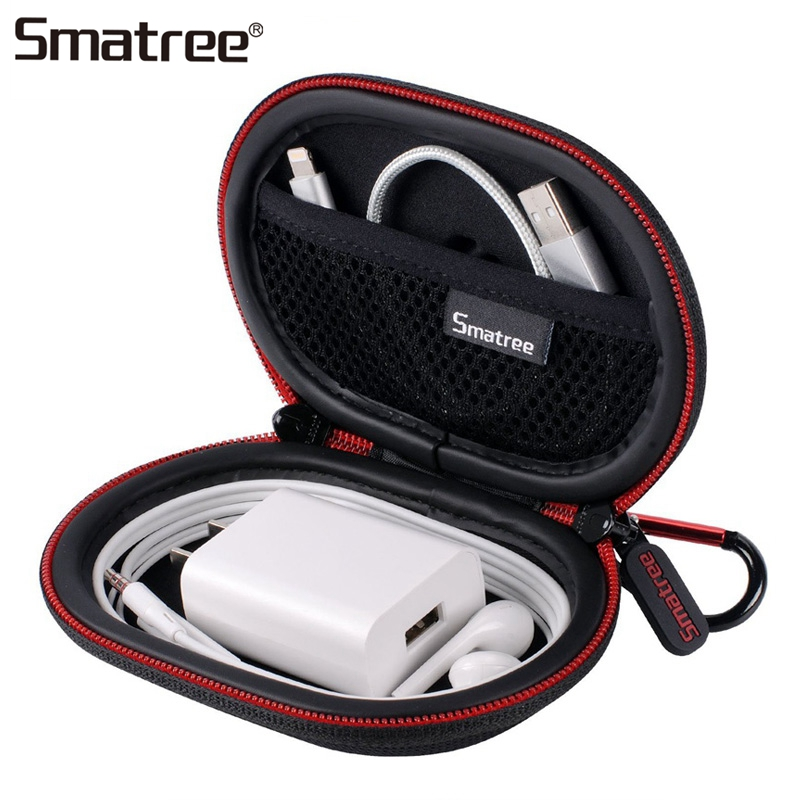 Smatree-Cover-Case-Storage-Bag-Black-Carry-Case-Handbags-Universal-Phone-Acceessories-Bags-Carry-Box