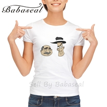 Babaseal Brand Vintage Two Cartoon Mafia Men T Shirt Totoro Bts Shirt Batwing Graphic Tees Women 3d Printer Women Tunic Tops