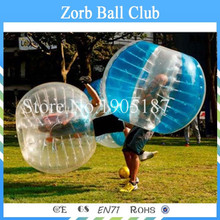 Free Shipping TPU Material Body Zorb Ball , Bumper Ball , Bubble Ball Suit ,Loopyballs On Sale(China)