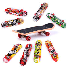 Buy Finger Skateboard Mini Fingerboard Alloy Stents Scrub Finger Scooter Skate Educational EDC Toys VS Hand Spinner Random Color for $4.47 in AliExpress store
