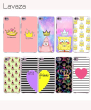 Lavaza 1045e Spongebob Queen Princess Hard Case for Lenovo A536 A328 A5000 A2010 A1000 K3 K4 K5 K6 Note ZUK Z2 Vibe P1 X3 Lite(China)