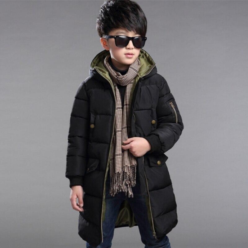 2017 Boys Parka Outwear Children Jackets Winter Jacket For Boy Ski Suit Kids Clothes Snowsuit Hooded Coat Costumes Teenage ChildОдежда и ак�е��уары<br><br><br>Aliexpress
