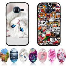 for Samsung Galaxy J1 Mini 2016 Case J105F J105H Cover 3D Cat Bags Cute Shell For Samsung J1mini Phone Cases 4.0'' Fundas Coque(China)