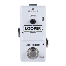 ammoon AP-09 Nano Loop Electric Guitar Effect Pedal Looper True Bypass Unlimited Overdubs 10 Minutes Recording with USB Cable(China)