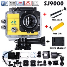 Hot Sale 4K ultra HD Camera Wifi Sport Action Camera 2.0 Inch 16MP 1080P 170 Wide Angle Lens 4k HD Waterproof Sport Cam
