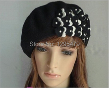 Time-limited Solid Adult Casual Wool Hats Gorro New Women Beret Braided Beanie Crochet Knitted Hat Cap(China)