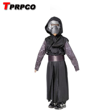 TPRPCO Boys Deluxe Star Wars The Force Awakens Kylo Ren Classic Cosplay Clothing Kids Halloween Movie Costume C43156(China)