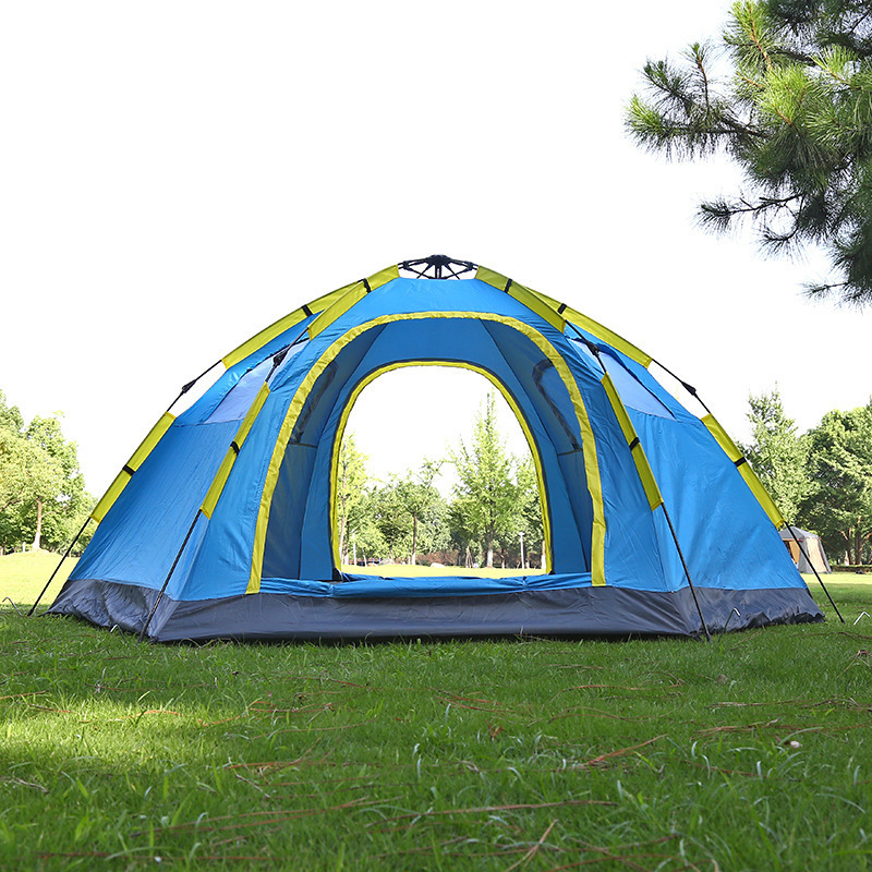 Outdoor Fishing Automatic Tent Camping Garden Picnic Set Hunting Roof Tent Tabernacle Beach Windbreak Fiberglass Pole (6)