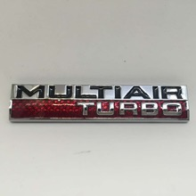 For Displacement  MULTAIR  SVT 5.0 3.7 Engine For Ford Mustang 5.0L 302Badge High Performance Fender Emblem in Chrome
