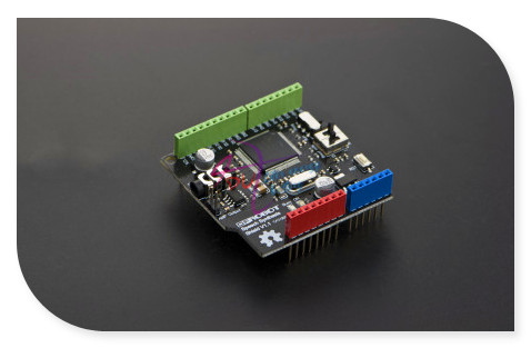DFRobot Speech Synthesis Shield extension board, Compatible with Arduino for robot speak voice navigation weather forecast etc.<br>