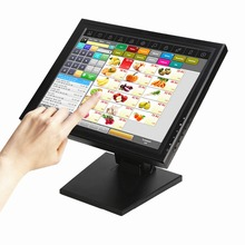 Wearson POS Monitor Display 15 inch Touch Screen LCD Monitor Computer Display With Heavy Stand(China)