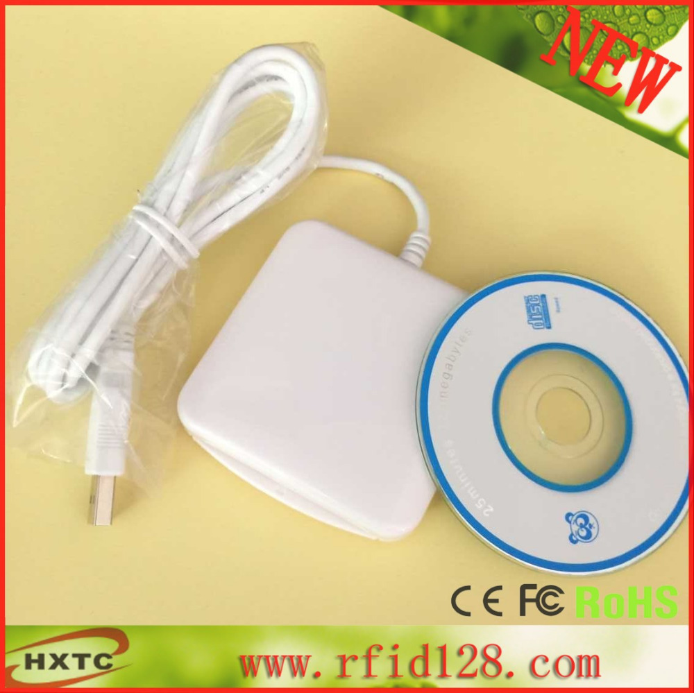 Free Shiping USB 4MHz ACR38_IPC Smart RFID Card Reader &amp;Writer Support ISO7816 Standard Cards with 2 PCS Cards+SDK Kit<br><br>Aliexpress