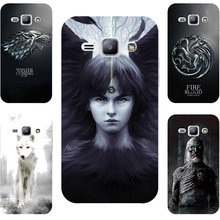 Game Of Throne House Stark Targaryen Painting Case For Samsung Galaxy J1 J2 2016 ACE J100 J110 J200 J120 Phone Printed Cover