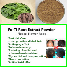 500g FO-Ti Root Extract Powder,He-shou-wu,polygonum,Chinese hair care for hair growth and black hair,100% Nature