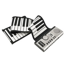 Flexible Roll Up Electric Piano Soft Keyboard Piano Portable 61 Keys