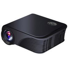 3000 lumens 1080P HD Home Theater HDMI Video Portable TV LED LCD Mini Projector PC Black