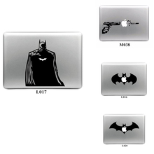 Cool Design Batman Vinyl Decal Laptop Sticker for Apple Macbook Pro Air 13 11 15 Laptop Skin Shell for Mac Book Cover Sticker
