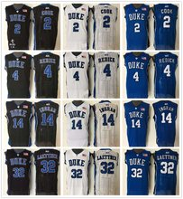2017 New arrivals Stitched High quality DUKE Duke Blue Devils basketball jerseys for men 17 styles