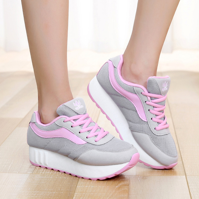 Fashion 2017 Women Casual Shoes Woman Shape Ups Perfect Comfort Summer Autumn Outdoor Thick Soled Rocker Shoes Zapatos Mujer<br><br>Aliexpress