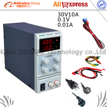 LED Digital Adjustable DC Power Supply ,0~30V 0~10A ,110V-220V, Switching Power supply 0.1V/0.01A
