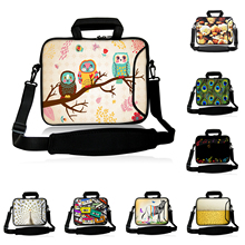 "Notebook Computer Shoulder Bags Huawei Chuwi Apple 9.7"" Mini PC Tablet 10"" 10.1"" Cute Birds Briefcase Netbook Messenger Bag"