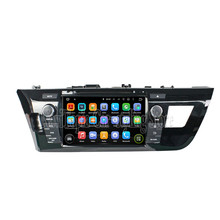 NaviTopia 8Inch Quad Core Android 5.1 Car DVD GPS For Toyota Levin 2014 Car PC+Radio Stereo+RDS+Bluetooth+WiFi+Mirror Link(China)