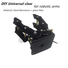 LB DIY Universal claw robotic gripper Hard Aluminum + glass fiber for robot arm Manipulator