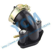 Intake Pipe EUI Carburetor Inlet Pipe GY6 50 80cc Scooter Engine Spare Parts 139QMB Moped Wholesale YCM