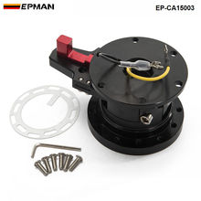 EPMAN - STEERING WHEEL BLACK QUICK RELEASE TILT SYSTEM JDM RACE/RACING EP-CA15003(China)